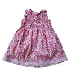 Cornelloki Summer Dress, Rusched Top, 12-18m